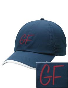George Fox Middle School Foxes Embroidered Nike Dri-FIT Swoosh Perforated Cap