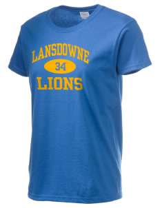 Lansdowne Middle School Lions Women's 6.1 oz Ultra Cotton T-Shirt