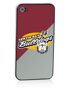 Curtis Bay Elementary School Bulldogs Apple iPhone 4/4S Skin