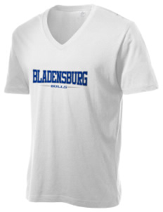 Bladensburg Elementary School Bulls Alternative Men's 3.7 oz Basic V-Neck T-Shirt