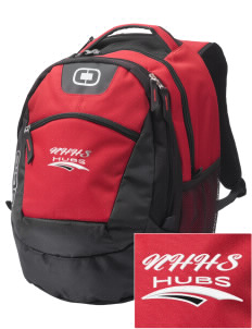 North Hagerstown High School Hubs Embroidered OGIO Rogue Backpack