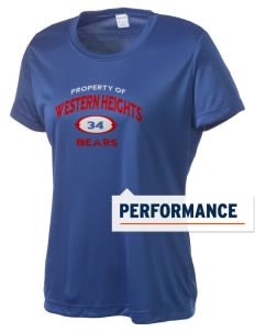 Western Heights Middle School Bears Women's Competitor Performance T-Shirt