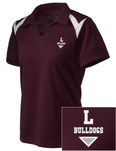 Lawrence School Bulldogs Embroidered Holloway Women's Laser Polo