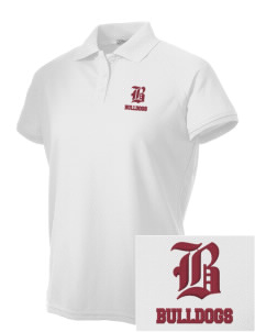 Lawrence School Bulldogs Embroidered Women's Technical Performance Polo