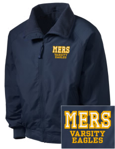 Mount Everett Regional High School Eagles Embroidered Men's Fleece-Lined Jacket