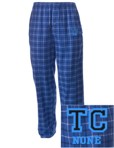 Thornton Creek None Embroidered Men's Button-Fly Collegiate Flannel Pant
