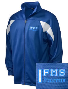 Friedman Middle School Falcons Embroidered Holloway Men's Full-Zip Track Jacket
