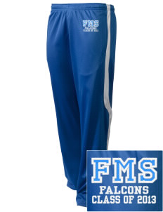 Friedman Middle School Falcons Embroidered Holloway Men's Tricotex Warm Up Pants