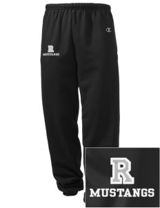 Ramona Elementary School Mustangs Embroidered Champion Men's Sweatpants