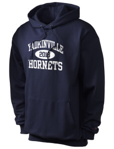 Yadkinville Elementary School Hornets Champion Men's Hooded Sweatshirt