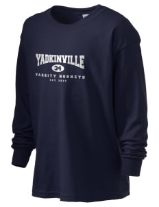 Yadkinville Elementary School Hornets Kid's 6.1 oz Long Sleeve Ultra Cotton T-Shirt