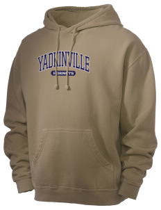 Yadkinville Elementary School Hornets Men's 80/20 Pigment Dyed Hooded Sweatshirt