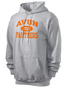 Avon Middle High School Panthers Men's 7.8 oz Lightweight Hooded Sweatshirt