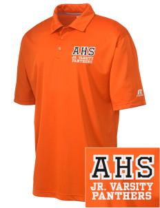 Avon Middle High School Panthers Embroidered Russell Coaches Core Polo Shirt