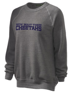 Chittick Elementary School Cheetahs Unisex Alternative Eco-Fleece Raglan Sweatshirt