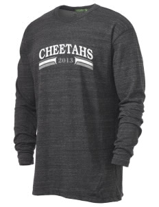 Chittick Elementary School Cheetahs Alternative Men's 4.4 oz. Long-Sleeve T-Shirt