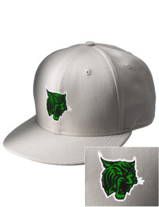 West Street Elementary School Wildcats  Embroidered New Era Flat Bill Snapback Cap