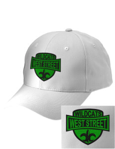 West Street Elementary School Wildcats Embroidered Low-Profile Cap