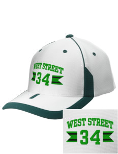 West Street Elementary School Wildcats Embroidered M2 Universal Fitted Contrast Cap