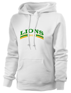 McKay Campus Elementary School Lions Russell Women's Pro Cotton Fleece Hooded Sweatshirt