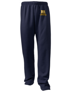 Bret Harte Elementary School Bears Embroidered Holloway Men's 50/50 Sweatpants
