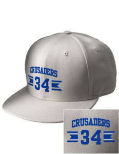 Peridot-Our Savior's Lutheran School Crusaders  Embroidered New Era Flat Bill Snapback Cap