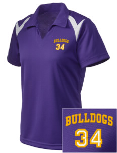 Southwest Community Campus Bulldogs Embroidered Holloway Women's Laser Polo