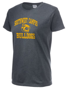 Southwest Community Campus Bulldogs Women's 6.1 oz Ultra Cotton T-Shirt