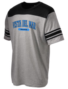 Vista del Mar School Makos Holloway Men's Champ T-Shirt
