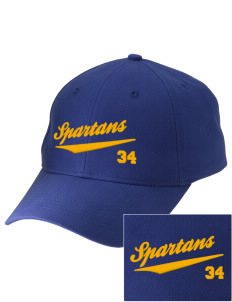 Mason County Central High School Spartans Embroidered Low-Profile Cap