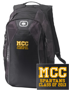 Mason County Central High School Spartans Embroidered OGIO Marshall Backpack