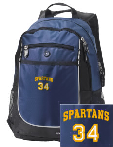 Mason County Central High School Spartans Embroidered OGIO Carbon Backpack