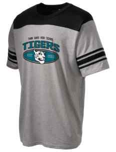 Twin Oaks High School Tiger Holloway Men's Champ T-Shirt