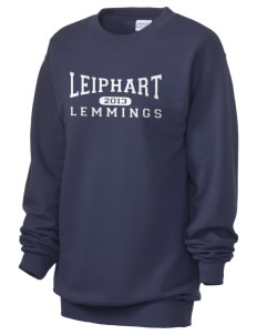 Leiphart Alternative High School Lemmings Unisex 7.8 oz Lightweight Crewneck Sweatshirt