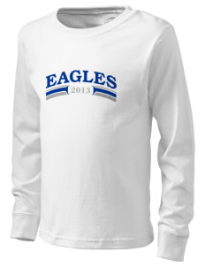 Troy Union Elementary School Eagles  Kid's Long Sleeve T-Shirt