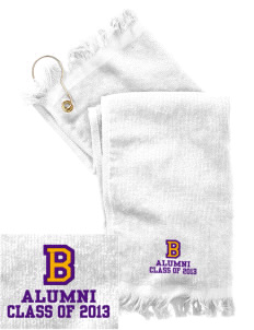 Byron Elementary School Eagles  Embroidered Grommeted Finger Tip Towel
