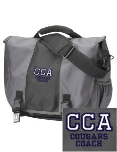 Calvary Christian Academy Cougars  Embroidered Montezuma Messenger Bag