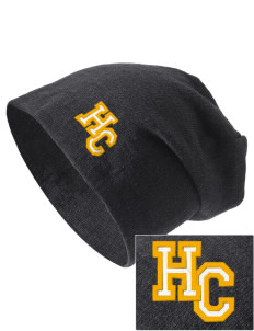 Harvest Christian Academy Knights Embroidered Slouch Beanie