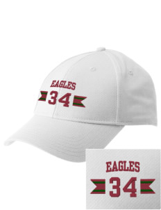 Lake Arrowhead Christian School Eagles  Embroidered New Era Adjustable Structured Cap