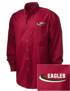 Lake Arrowhead Christian School Eagles Embroidered Men's Twill Shirt