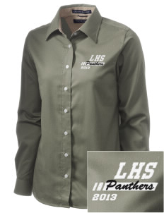 Lutheran High School Panthers  Embroidered Women's Pima Advantage Twill