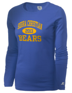 Sierra Christian Academy Bears  Russell Women's Long Sleeve Campus T-Shirt