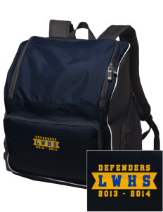 Lake Worth Christian School Defenders Embroidered Holloway Backpack