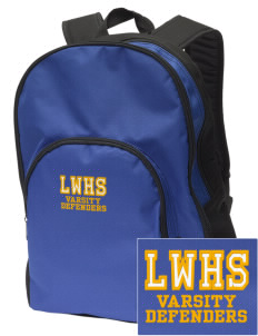 Lake Worth Christian School Defenders Embroidered Value Backpack