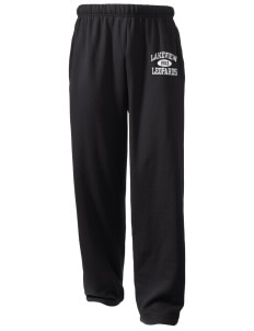 Lakeview Elementary School Leopards  Holloway Arena Open Bottom Sweatpants