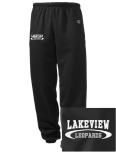Lakeview Elementary School Leopards Embroidered Champion Men's Sweatpants