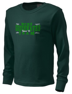 Meade County High School Greenwaves  Kid's Long Sleeve T-Shirt