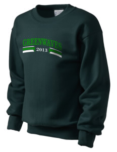 Meade County High School Greenwaves Kid's Crewneck Sweatshirt
