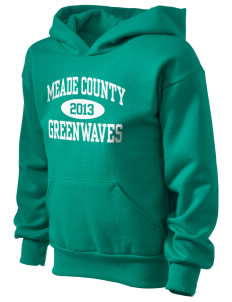 Meade County High School Greenwaves Kid's Hooded Sweatshirt
