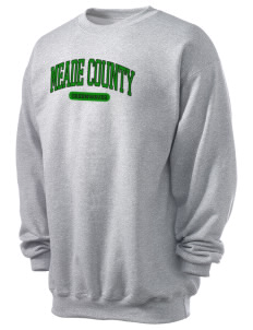 Meade County High School Greenwaves Men's 7.8 oz Lightweight Crewneck Sweatshirt